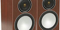 Monitoraudio ブックシェルフスピーカー Silver1 (Walnut)